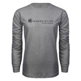 Grey Long Sleeve T Shirt-Baker and Taylor