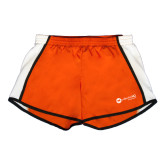 Ladies Orange/White Team Short-Collection HQ