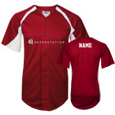 Replica Cardinal Adult Baseball Jersey-Personalized