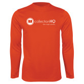 Performance Orange Longsleeve Shirt-Collection HQ