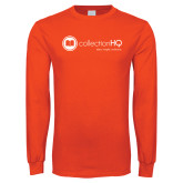 Orange Long Sleeve T Shirt-Collection HQ