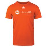 Adidas Orange Logo T Shirt-Collection HQ