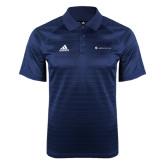 Adidas Climalite Navy Jaquard Select Polo-Baker and Taylor