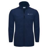 Columbia Full Zip Navy Fleece Jacket-Baker and Taylor