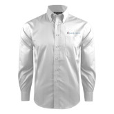 Red House White Dobby Long Sleeve Shirt-Baker and Taylor