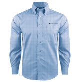 Red House Light Blue Plaid Long Sleeve Shirt-Baker and Taylor
