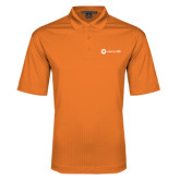 Orange Performance Fine Jacquard Polo-Collection HQ