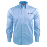 Red House Light Blue Dobby Long Sleeve Shirt-Baker and Taylor