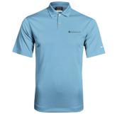 Nike Dri Fit Light Blue Pebble Texture Sport Shirt-Baker and Taylor