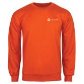 Orange Fleece Crew-Collection HQ