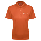 Ladies Orange Dry Mesh Polo-Collection HQ