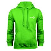 Lime Green Fleece Hoodie-Axis 360