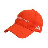 Adidas Orange Structured Adjustable Hat-Collection HQ