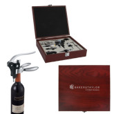 Executive Wine Collectors Set-Baker and Taylor Engraved