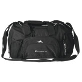 High Sierra Black Switch Blade Duffel-Baker and Taylor