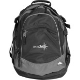 High Sierra Black Titan Day Pack-Axis 360