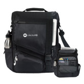 Momentum Black Computer Messenger Bag-Collection HQ