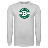 White Long Sleeve T Shirt-Babson Design