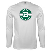 Performance White Longsleeve Shirt-Babson Design