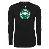 Under Armour Black Long Sleeve Tech Tee-Mascot Design