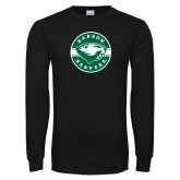 Black Long Sleeve T Shirt-Mascot Design