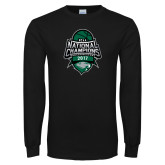 Black Long Sleeve T Shirt-2017 National Basketball Champions