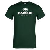 Dark Green T Shirt-Primary Mark
