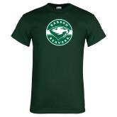 Dark Green T Shirt-Mascot Design