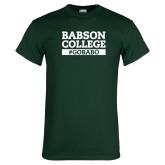 Dark Green T Shirt-GO BABO