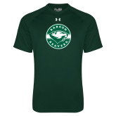 Under Armour Dark Green Tech Tee-Mascot Design