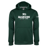 Under Armour Dark Green Performance Sweats Team Hoodie-Lacrosse