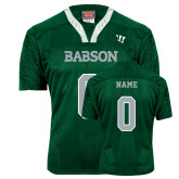 Replica Dark Green Adult Lacrosse Jersey-Personalized