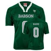 Replica Dark Green Adult Lacrosse Jersey-Personalized