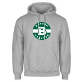 Grey Fleece Hoodie-Babson Design