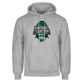 Grey Fleece Hoodie-2017 National Basketball Champions