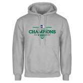 Grey Fleece Hoodie-2018 Baseball Champions