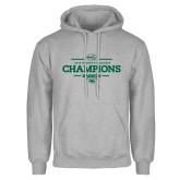 Grey Fleece Hoodie-2018 Womens Lacrosse Champions