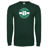 Dark Green Long Sleeve T Shirt-Babson Design