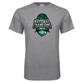 Grey T Shirt-2017 National Basketball Champions