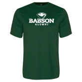 Performance Dark Green Tee-Alumni
