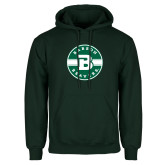Dark Green Fleece Hood-Babson Design