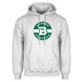 White Fleece Hoodie-Babson Design