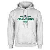 White Fleece Hoodie-2018 Baseball Champions