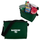 Six Pack Dark Green Cooler-Secondary Mark