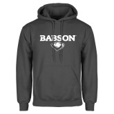Charcoal Fleece Hoodie-Secondary Mark