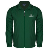 Full Zip Dark Green Wind Jacket-Primary Mark