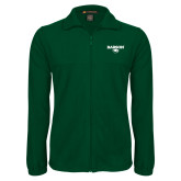 Fleece Full Zip Dark Green Jacket-Secondary Mark