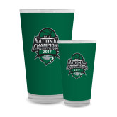 Full Color Glass 17oz-2017 National Basketball Champions