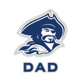 Dad Decal-Buccaneer Head, 6 in W