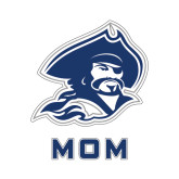 Mom Decal-Buccaneer Head, 6 in W